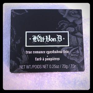 Kat Von D eyeshadow set.